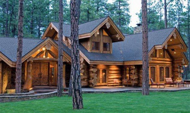 domy drewniane z bali